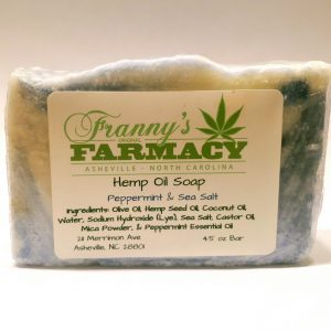 Hemp Oil Soap - Peppermint and Sea Salt - Longleaf Provisions - the best CBD in Winston-Salem