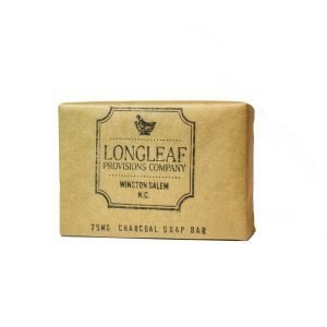CBD charcoal bar soap - 75 mg - Longleaf Provisions - the best CBD in Winston-Salem