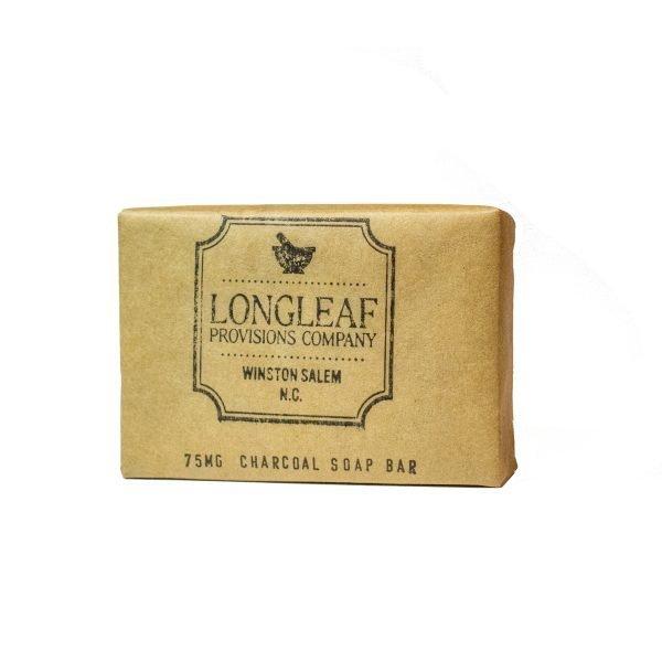 CBD charcoal bar soap - 75 mg - Longleaf Provisions - the best CBD in Winston-Salem