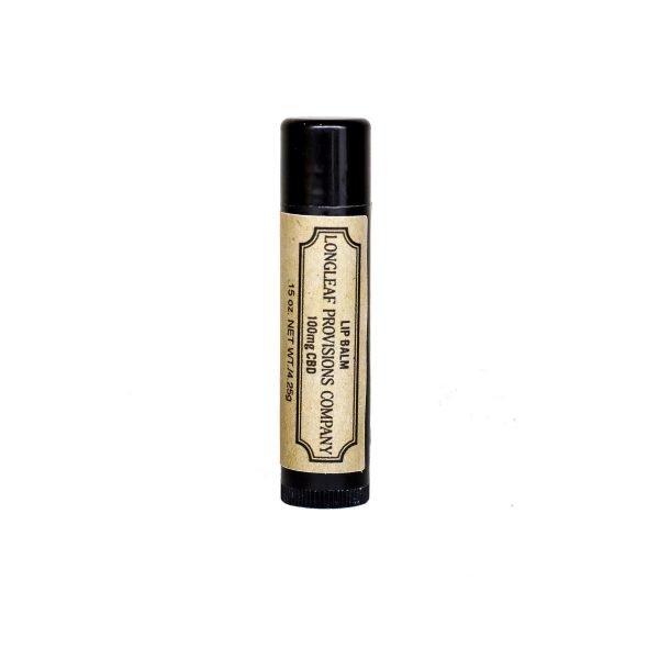 CBD Lip Balm 100 mg - Longleaf Provisions - the best CBD in Winston-Salem