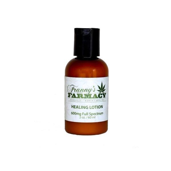 CBD Healing Lotion 600 mg - Full Spectrum - Franny's Farmacy - Longleaf Provisions for the best CBD in Winston-Salem