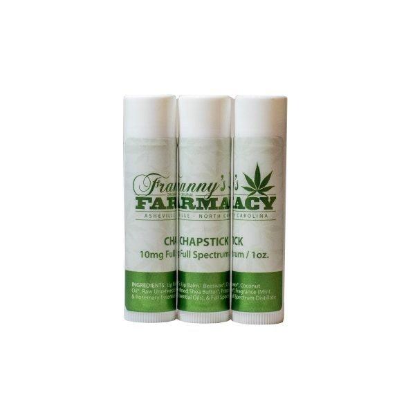 CBD lip balm - Franny's Farmacy - Longleaf Provisions - the best CBD in Winston-Salem